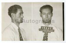 Early 20th Century Mug Shots - Edward Grass/Escaped Convict - 1946