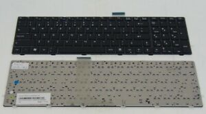 MSI A6200 CX620 GX660 FX610MX FX600 CR620 UK Black Laptop Keyboard