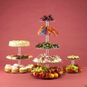 5 Tier Cupcake Display Stand Fruit Food Tower for Wedding & Party