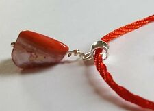 Red Stacker Bracelet with Red Shell Bead