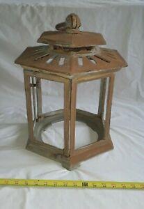 Vintage Gothic, Art deco, Cast Iron Porch Lantern LIght Fixture, NO GLASS.