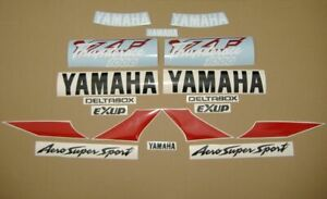 Yamaha yzf 1000r 1996 Thunderace complete decals set adhesivos transfers labels