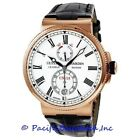 NEW Ulysse Nardin Marine Chronometer 118612240 Mens Watch