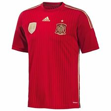 Adidas Authentic Spain Home Jersey World Cup 2014 Small