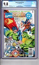 DC vs MARVEL#3 9.8 CGC WP ' 1st...App...AMAZON..Ya BABY'.Let..the..ACTION BEGIN!