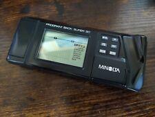 Minolta Program Back Super 90 - Minolta 9000 SLR camera