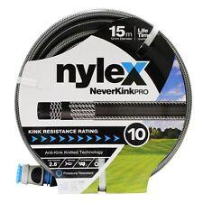 Nylex 12mm x 15m NeverKink Pro Garden Hose
