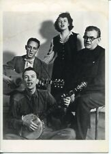 Pete Seeger Ronnie Gilbert The Weavers Signed Autograph Photo With Rare Sketch