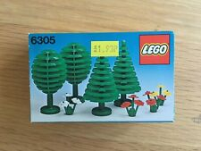 Vintage Lego 6305 TREES & FLOWERS 1980 Set FACTORY SEALED