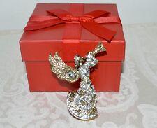 "New $150 HEIDI DAUS ""Divine Messenger"" Angel Swarovski Crystal Brooch Pin"