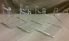 THREE Clear Acrylic Blade Runner Blaster Pistol Gun Prop Display Stand lot