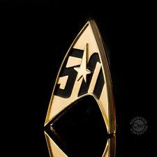 Star Trek Replik 1/1 Sternenflottenabzeichen magnetisch 50th Anniversary NEU