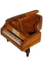 Vtg Reuge Switzerland Music Box Baby Grand Piano Doctor Zhivago Lara's Theme