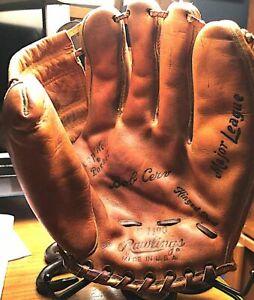 Vintage Bob Cerv Rawlings Model G1100 Glove