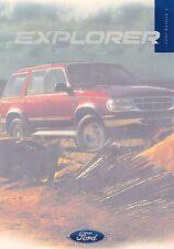 Ford Explorer folleto UK Inglaterra 1997 +++++++++++++++++++++++++++++++++++++++++