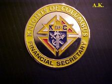 KNIGHTS OF COLUMBUS FINANCIAL SECRETARY COIN