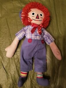 """Raggedy Andy Johnny Gruelle Applause FAO Schwarz Exclusive 16"""""""