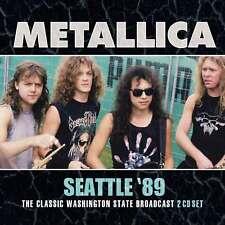 METALLICA New Sealed 2019 UNRELEASED LIVE 1989 SEATTLE CONCERT 2 CD SET