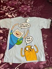 New listing New Adventure Time Finn & Jake Cartoon Network Adult Mens T-Shirt Size M NWT