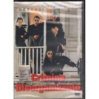 Crimine Disorganizzato DVD Disney Ed Con Ologramma Tondo Sigillato