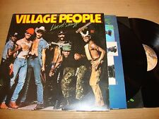 Village People - Live And Sleezy - Double LP Record  VG VG VG+