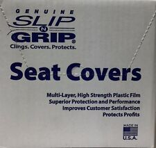 A+ Slip N Grip Seat Covers 250 per Box Disposable Plastic Auto Seat Covers (W15)
