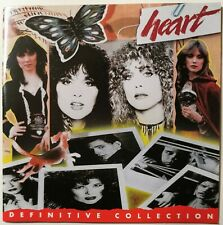 HEART ~ Definitive Collection  ~ CLASSIC/POP ROCK ~VGd+ ~Barracuda, Kick It Out+