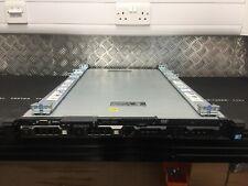 Dell R410 1U Server Xeon Quad Core X5550 2.66GHz CPU 96GB RAM 2x 500GB SSD Rails