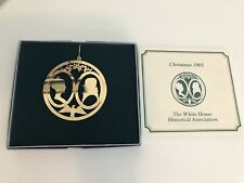 WHITE HOUSE HISTORICAL ASSOCIATION ORNAMENT - 1985 - Madison