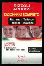 DIZIONARIO COMPATTO ITALIANO TEDESCO TEDESCO ITALIANO LAROUSSE 2005