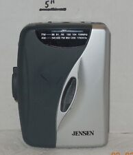 Jensen SCR-68A Stereo Cassette Tape Player w AM/FM Radio TESTED AND WORKS