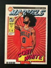 2019-20 Panini Donruss Net Marvels Rookie #5 Coby White RC