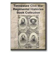Tennessee TN Civil War Regiment Regimental Genealogy 12 Book Set - B389