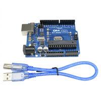 UNO R3 ATmega328P ATMEGA16U2 Board For Arduino Compatible+USB Cable
