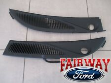 95 thru 01 Explorer Mountaineer OEM Ford Windshield Wiper Cowl Panel Grille Set