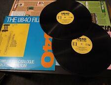 The UB40 File by UB40 2 x vinyl LP 1985
