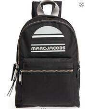 Nwt Marc Jacobs Medium Sport Trek Backpack Nylon ~ Black $225