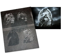 Step by Step Airbrush Stencil AS-024 M ~ Template ~ UMR-Design