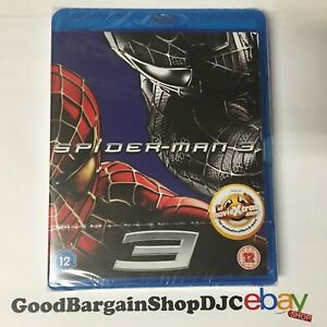 Spider-Man 3 (Blu-ray, 2012) *New & Sealed*