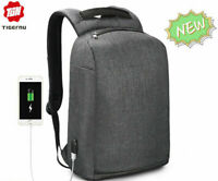 Tigernu Waterproof Men Backpack Laptop Anti theft With USB Male School Backpack