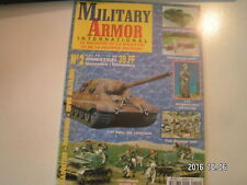 **a Military Armor n°2 Sd.kfz 186 Jagdtiger  M8 Greyhound Motocycliste Allemand