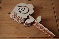 Set dieci pezzi di forma un grande fiore Bella Decorazione l9 per decoupage