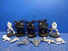 5 deathguard havocs con armi speciali della caos Space Marine del metallo