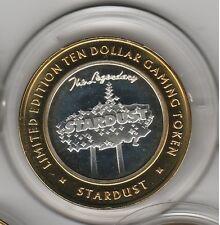 2004 Boyd Legendary Stardust Sign G Mint .999 Fine Silver $10 Casino Token