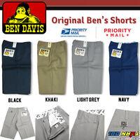 Ben Davis Shorts Men Original Ben's Poly Cotton Blend Heavy Weight Twill Hip hop