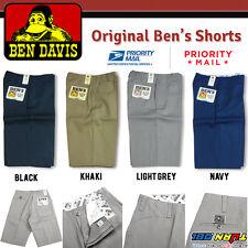 1985a85d Ben Davis Shorts Men Original Ben's Poly Cotton Blend Heavy Weight Twill  Hip hop