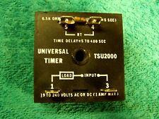 Universal TSU2000 time delay relay 5-480 sec 19-240V Trane B145800P01