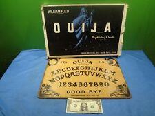 Vintage Parker Brothers Ouija Board; William Fuld Talking Board Set
