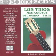 Trios Mas Famosos Del Mundo 3: 30 Exitos by Various Artists
