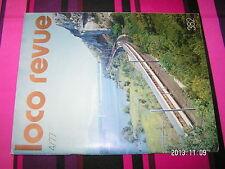 Loco Revue n°382 040.TA  Systeme T.V.R Loco Articulé